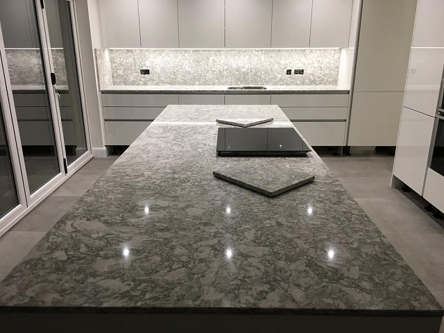 Picture of Berwyn Quartz Worktop and Island