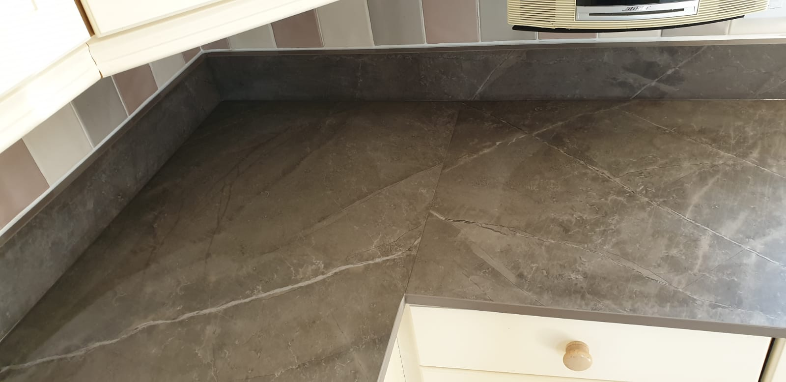 Picture of a Dekton Worktop